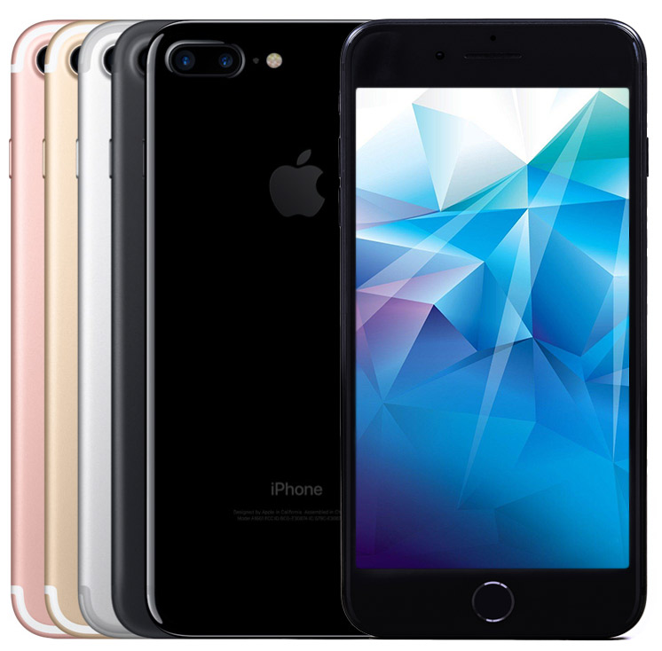 Apple iPhone 7 refurbished all colours front