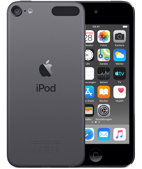 Apple iPod touch space gray mieten