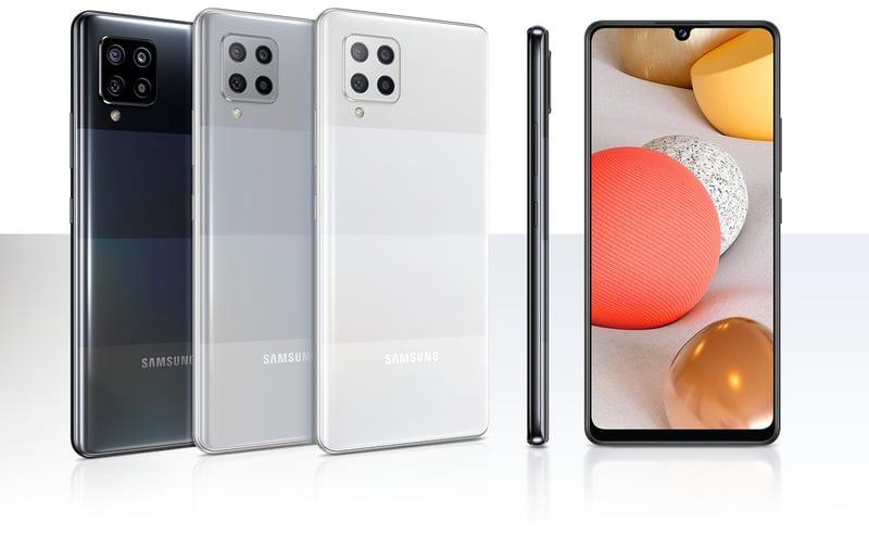 Firmenhandy mieten_Samsung Galaxy A42 5G_collage