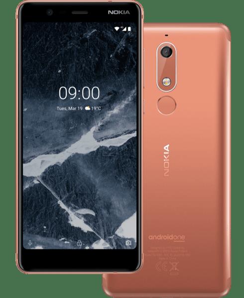 Nokia 5-1 Back & front
