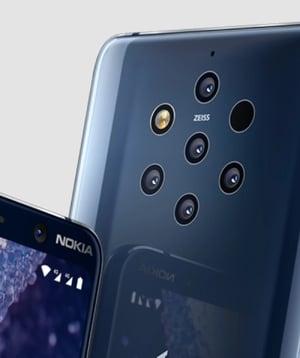 Nokia 9 Pureview Cameras