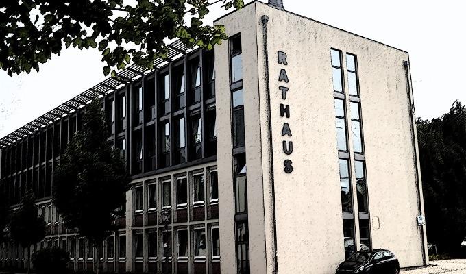 Rathaus Stadt Erkelenz Spray Filter-1