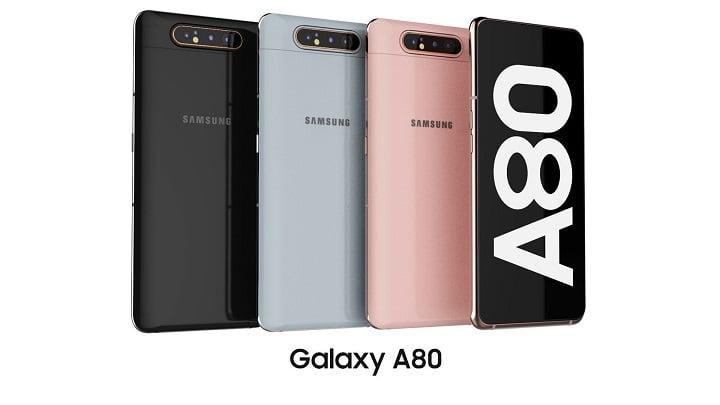 Samsung Galaxy A80 Overview