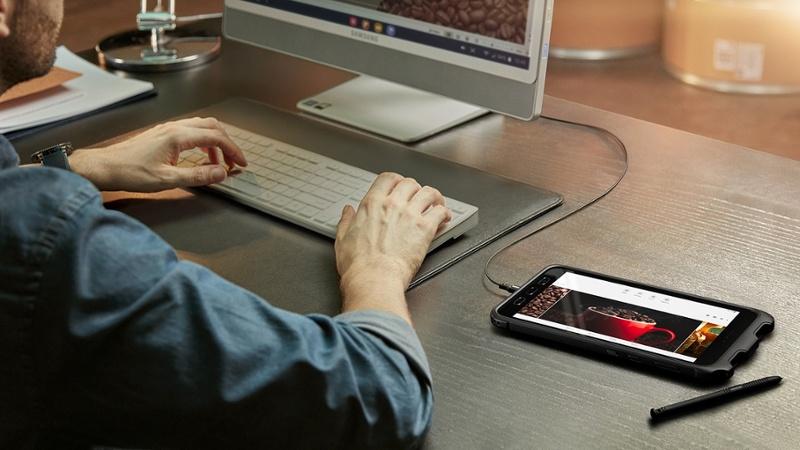 Samsung Galaxy Tab Active 3 DeX Desktop Experience-1