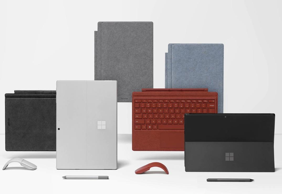 Microsoft Surface Pro 7 mieten