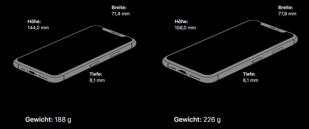 Apple i Phone 11 Pro und 11 Pro Max Vergleich